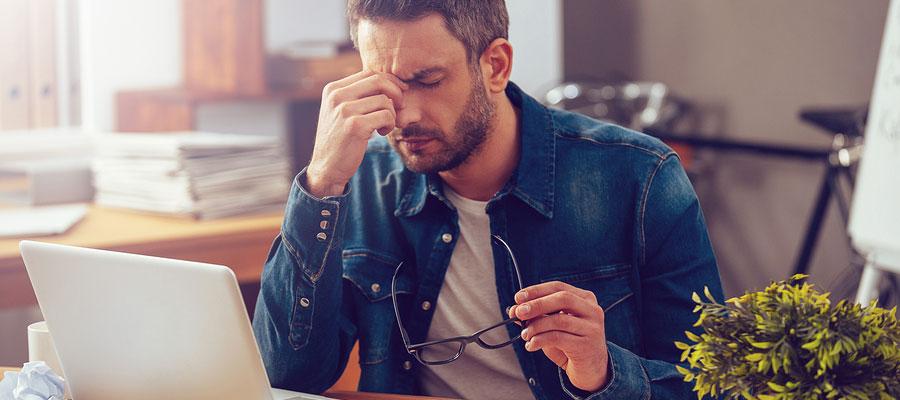 causes d'une dépression au travail